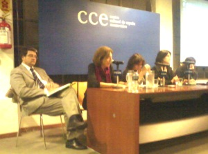 Event in Montevideo, 18 April 2013