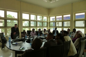 Participants of the N-Map workshop at the MacArthur Foundation in Abuja