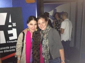 Abby conoce a Bloguadora Cubana, Yoani Sanchez, una inspiración en la lucha contra derechos Cubanos