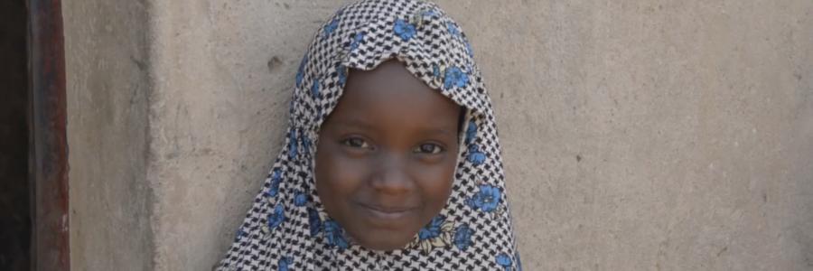 Smiling Nigerian School Girl
